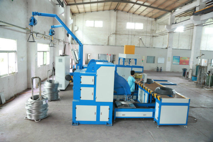 70KW Galvanized Wire Packing Machine 12000mm * 11000mm * 3500mm Size