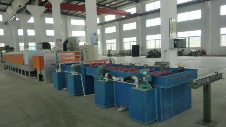 High Efficiency Dry Wire Drawing Machine , PLC Control SS Wire Drawing Equipment